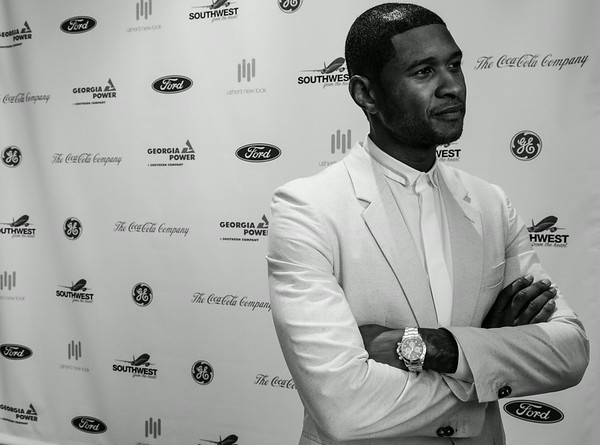 usher's new look 15 Year Celebration